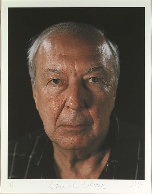 Jasper Johns, Chuck Close (American, born Monroe, Washington, 1940), Inkjet print