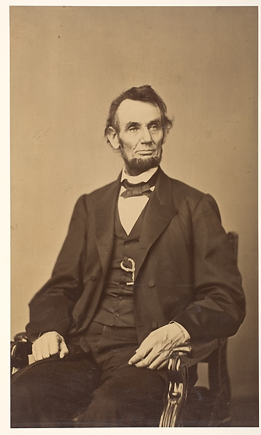Abraham Lincoln, Anthony Berger (American, active 1860s), Albumen silver print from glass negative