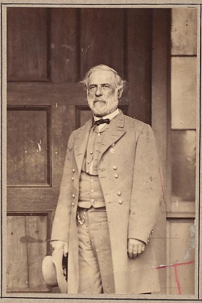 General Robert E. Lee, Mathew B. Brady (American, born Ireland, 1823?–1896 New York), Albumen silver print from glass negative
