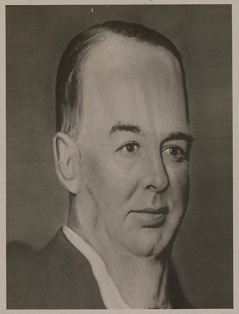 "[Distortograph: William Hale ""Big Bill"" Thompson, Mayor of Chicago], Herbert George Ponting (British, Salisbury, Wiltshire 1870–1935 London), Gelatin silver print"