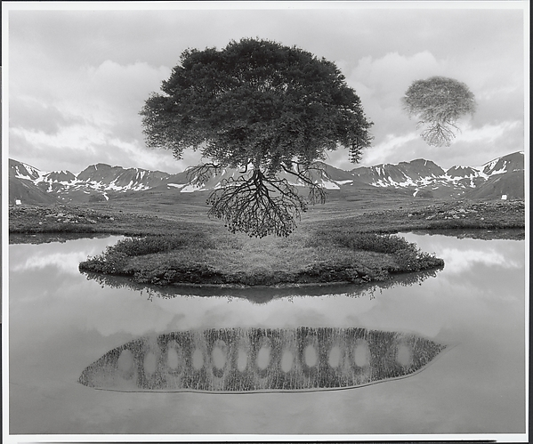 Untitled, Jerry N. Uelsmann (American, born Detroit, Michigan, 1934), Gelatin silver print