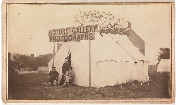 [Picture Gallery Photographs], Unknown (American), Albumen silver print from glass negative