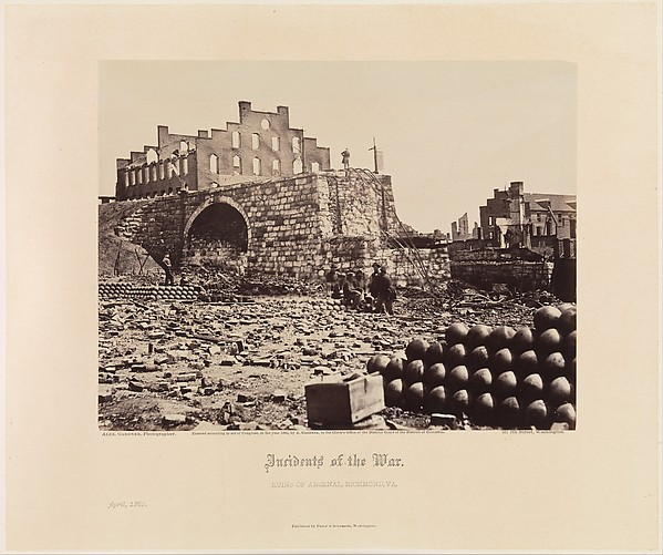 Gardner's Photographic Sketchbook of the War, Volume 2, Alexander Gardner (American, Glasgow, Scotland 1821–1882 Washington, D.C.), Albumen silver prints from glass negatives