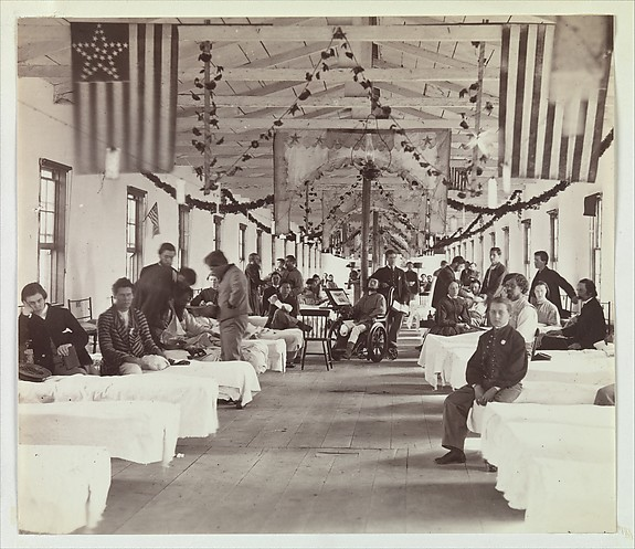Armory Square Hospital, Washington, Unknown (American), Albumen silver print from glass negative