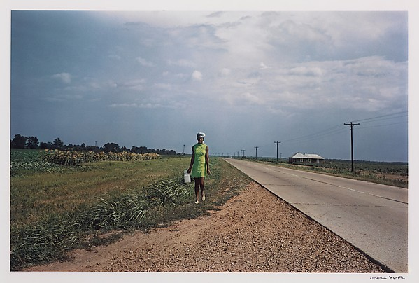 Untitled (Near Minter City and Glendora, Mississippi), William Eggleston (American, born Memphis, Tennessee, 1939), Dye-transfer print