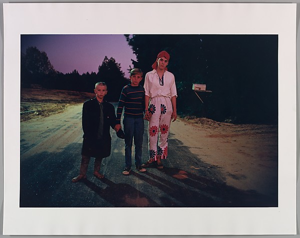 Untitled (Outskirts of Morton, Mississippi, Halloween), William Eggleston (American, born Memphis, Tennessee, 1939), Dye-transfer print