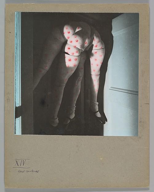 La Poupée, Hans Bellmer (German (born Poland), Katowice 1902–1975 Paris), Gelatin silver print with applied color