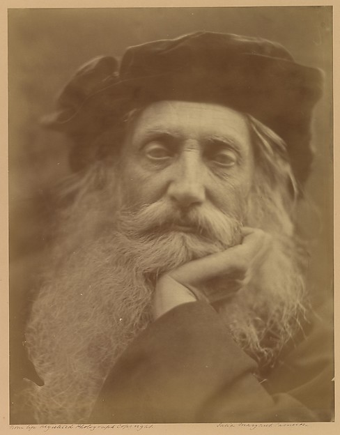 Henry Taylor, Julia Margaret Cameron (British (born India), Calcutta 1815–1879 Kalutara, Ceylon), Albumen silver print from glass negative