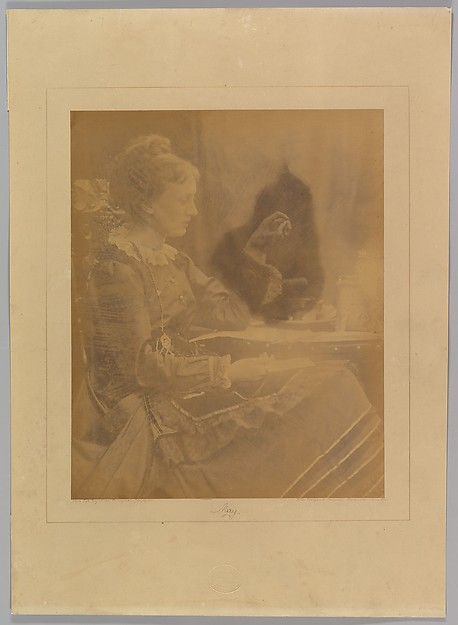 May. Freshwater, Julia Margaret Cameron (British (born India), Calcutta 1815–1879 Kalutara, Ceylon), Albumen silver print from glass negative