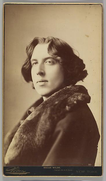 Oscar Wilde, Napoleon Sarony (American (born Canada), Quebec 1821–1896 New York), Albumen silver print from glass negative