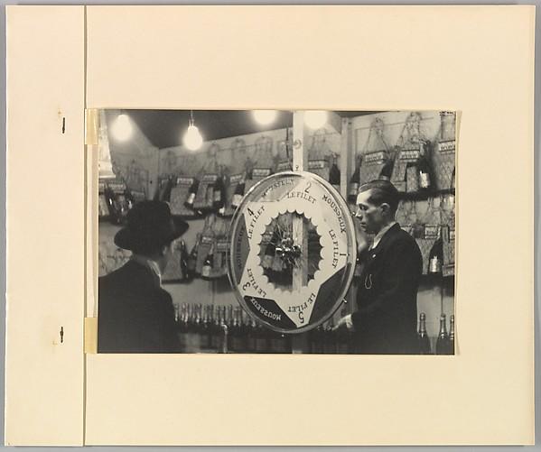 [Mousseux LeFiler Wheel, Paris], Ilse Bing (German, 1899–1998), Gelatin silver print