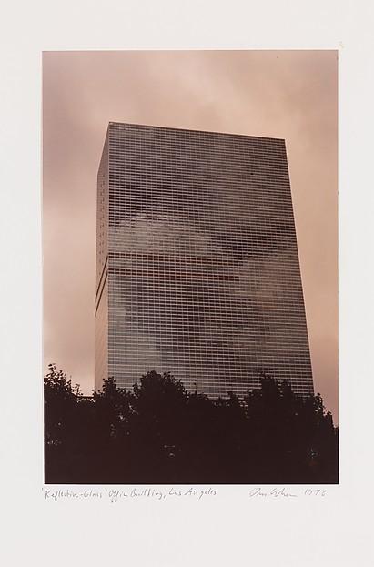 """Reflective-Glass"" Office Building, Los Angeles, Dan Graham (American, born Urbana, Illinois, 1942), Chromogenic print"