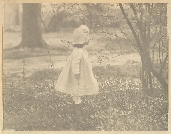 Kitty Stieglitz, Central Park, New York, Alfred Stieglitz (American, Hoboken, New Jersey 1864–1946 New York), Photogravure