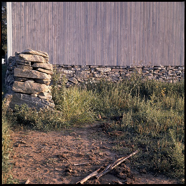 """[271 Views of Stone Structures and Quarries for Fortune Article """"American Masonry""""], Walker Evans (American, St. Louis, Missouri 1903–1975 New Haven, Connecticut), Color film transparency"""