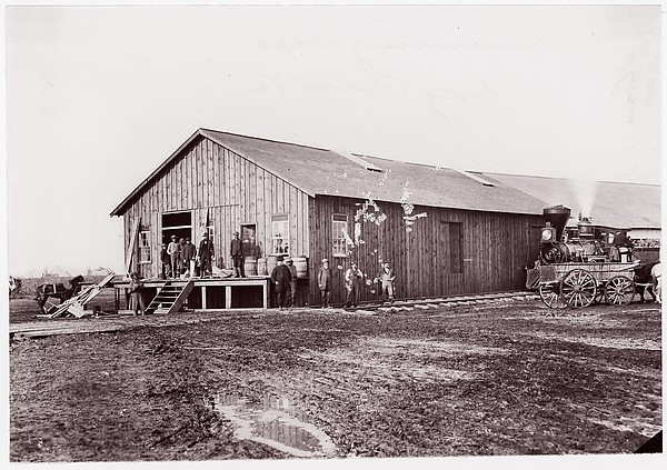 Commissary Department, City Point, Virginia, Andrew Joseph Russell (American, 1830–1902), Albumen silver print from glass negative