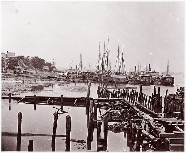 City Point, Virginia, Andrew Joseph Russell (American, 1830–1902), Albumen silver print from glass negative
