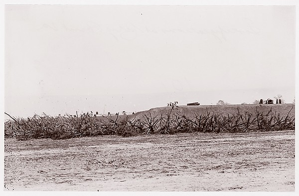 Fortifications at City Point, Formerly attributed to Mathew B. Brady (American, born Ireland, 1823?–1896 New York), Albumen silver print from glass negative