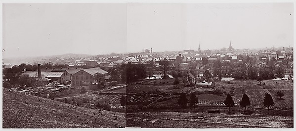 Petersburg, Timothy H. O'Sullivan (American, born Ireland, 1840–1882), Albumen silver print from glass negative