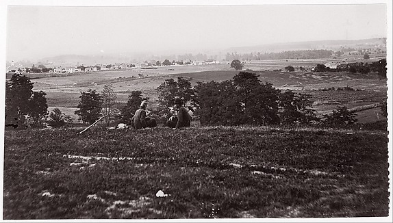 Gettysburg, Pennsylvania, Unknown (American), Albumen silver print from glass negative