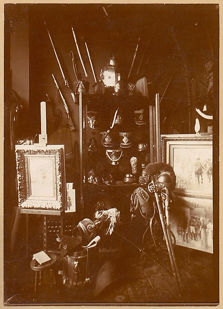 [Collection of Military Artifacts], Unknown, Albumen silver print