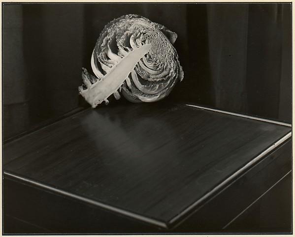 Cabbage, Johan Hagemeyer (American, born The Netherlands, 1884–1962), Gelatin silver print
