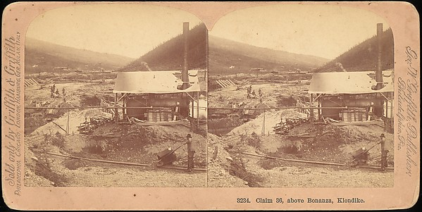 [Group of 42 Stereograph Views of Alaska Including the Gold Rush], George W. Griffith (American), Albumen silver prints