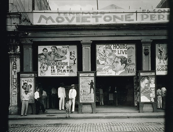 Cinema, Walker Evans (American, St. Louis, Missouri 1903–1975 New Haven, Connecticut), Gelatin silver print