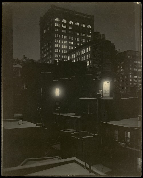 From the Back Window – 291, Alfred Stieglitz (American, Hoboken, New Jersey 1864–1946 New York), Platinum print