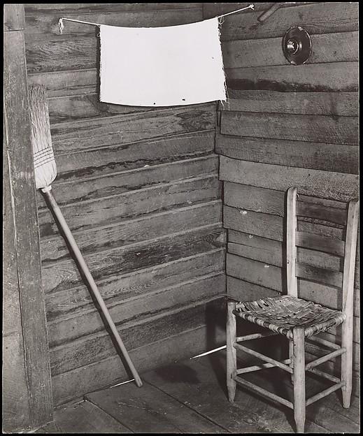 Kitchen Corner, Tenant Farmhouse, Hale County, Alabama, Walker Evans (American, St. Louis, Missouri 1903–1975 New Haven, Connecticut), Gelatin silver print