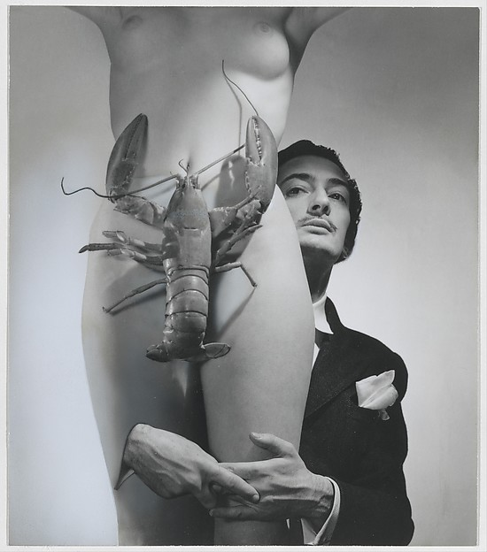 Salvador Dali, George Platt Lynes (American, East Orange, New Jersey 1907–1955 New York), Gelatin silver print with applied pigment