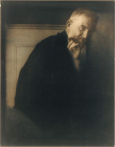 The Photographers' Best Model - George Bernard Shaw, Edward J. Steichen (American (born Luxembourg), Bivange 1879–1973 West Redding, Connecticut), Gum bichromate over platinum print