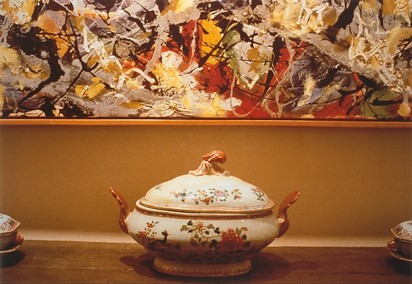 Pollock and Tureen, Arranged by Mr. and Mrs. Burton Tremaine, Connecticut, Louise Lawler (American, born Bronxville, New York, 1947), Silver dye bleach print