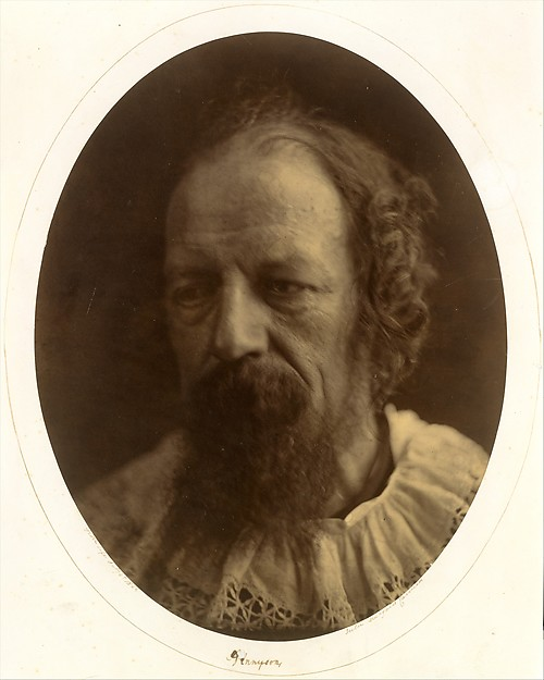 Alfred, Lord Tennyson, Julia Margaret Cameron (British (born India), Calcutta 1815–1879 Kalutara, Ceylon), Albumen silver print from glass negative