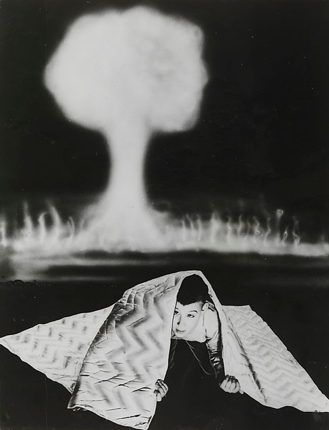 New Blanket Provides Protection Against Radiation, Unknown (British), Gelatin silver print