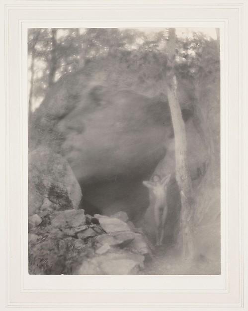 The Vision (Orpheus Scene), F. Holland Day (American, Norwood, Massachusetts 1864–1933 Norwood, Massachusetts), Platinum print