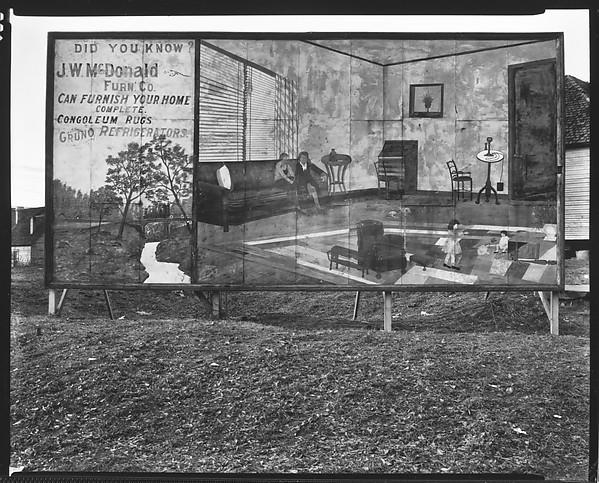 [Roadside Furniture Store Sign Near Birmingham, Alabama], Walker Evans  (American,