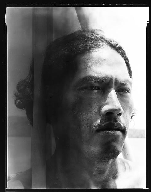 [South Seas: Male Portrait], Walker Evans (American, St. Louis, Missouri 1903–1975 New Haven, Connecticut), Film negative