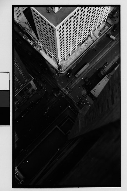 [Lexington Avenue and 42nd Street Intersection, From Roof of Chanin Building, New York City], Walker Evans (American, St. Louis, Missouri 1903–1975 New Haven, Connecticut), Film negative