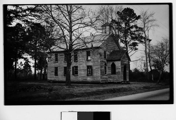 [Wooden Church, Georgia?], Walker Evans (American, St. Louis, Missouri 1903–1975 New Haven, Connecticut), Film negative