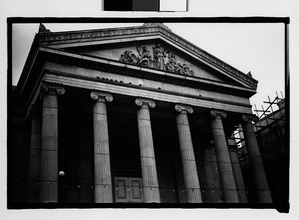 [Second Municipality Hall, St. Charles Street, New Orleans, Louisiana], Walker Evans (American, St. Louis, Missouri 1903–1975 New Haven, Connecticut), Film negative