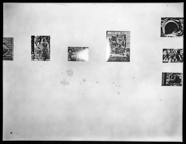 """[Installation View of """"Walker Evans: American Photographs""""  Exhibition at The Museum of Modern Art, New York City], Walker Evans (American, St. Louis, Missouri 1903–1975 New Haven, Connecticut), Film negative"""