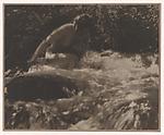 The Brook, Anne W. Brigman (American, Honolulu, Hawaii 1869–1950 Eagle Rock, California), Gelatin silver print