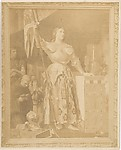 """[Reproduction of Ingres' """"Jeanne d'Arc""""], Unknown (French), Albumen silver print"""
