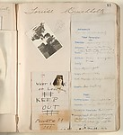 [Pages Devoted to Louise Bruckholtz in Girls I Have Known], Daniel Rochford (American, Minneapolis 1900–1996)