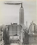 [Dirigible Docked on Empire State Building, New York], Unknown (American), Gelatin silver print