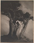The Heart of the Storm, Anne W. Brigman (American, Honolulu, Hawaii 1869–1950 Eagle Rock, California), Gelatin silver print from glass negative