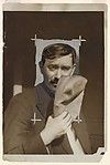 Robert Dietrich, Unknown (French), Gelatin silver print with applied color