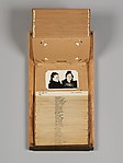 [File Drawer with 46 Mugshots of Shoplifters], Unknown (American), Gelatin silver prints