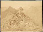 [Village in Mountainous Landscape], Unknown, Albumen silver print from glass negative