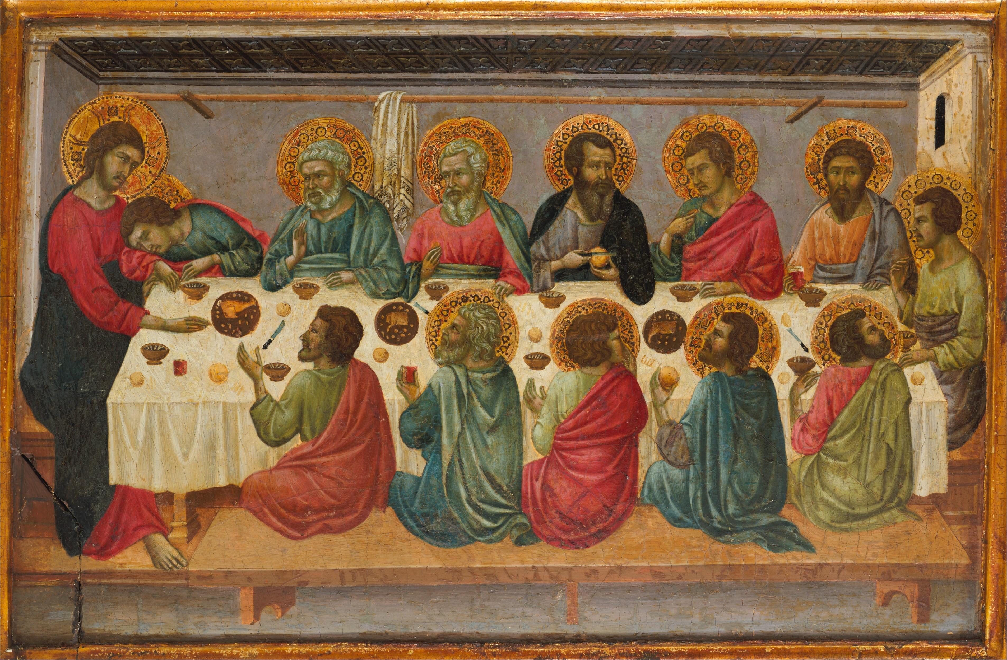 ugolino da siena ugolino di nerio the last supper the met